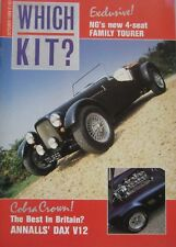 Which Kit? magazine 10/1988 featuring NG Tourer, JBA Falcon, AF Sports