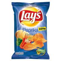 Lay's Paprika Chips Walkers Lays Original Crisps 225G