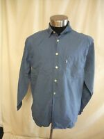 "Mens Shirt Levi's XL, chambray blue pure cotton, pit2pit 25"", not perfect 0957"