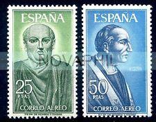 SPAGNA 1966 -  POSTA AEREA CELEBRITA'  SERIE  NUOVA **