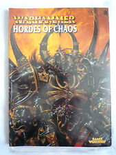 WARHAMMER / HORDES OF CHAOS / ARMY BOOK / GAMES WORKSHOP
