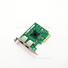 Fujitsu Primergy Dual Port Gigabit Server Adapter D2735-A12 GS 2 Low Profile