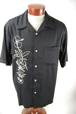 Monte Carlo Men's Embroidered Button Up Shirt - Men's Large