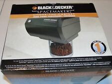 Black & Decker Spacemaker Black Food Processor Grinder Under Cabinet NEW CG800B