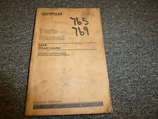 Caterpillar Cat 980B Wheel Loader 3306 Engine Parts Catalog Manual  89P4764-Up