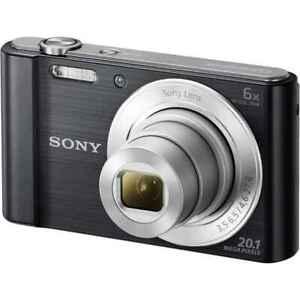 Sony DSC-W810 Cyber-Shot Black W-810 25mm 6X
