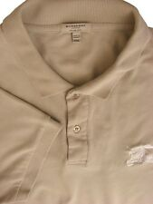 BURBERRY T-Shirt Mens XXL Beige SLIM FIT SHORT SLEEVE NEW