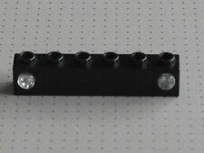 LEGO ELETTRICO-NERO 1 x 6 Stud prisma e titolare-TRENO LUCI - (4170 4171)