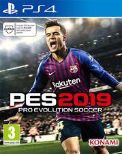 Konami Ps4 Pro Evolution soccer 2019 - PES 2019
