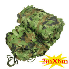6x20 FT Woodland Camouflage Camo Army Net Military Hunting Hide Netting Shelter