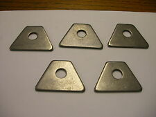 Steel Weld on Tab Chassis Tab Seat Tab 1/8 thick with 1/2 hole Pack of 5