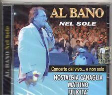 AL BANO CD Nel sole ITALY stampa ITALIANA sigillato SEALED 15 TRACCE 2009
