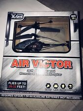 Air Victor Remote Control Helicopter Free Ship 2CH Infrared Grey Camouflage RC