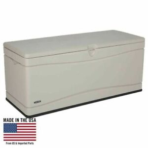 130 Gallon Heavy-Duty Deck Box, Tan