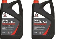 LONGLIFE 10L Red AntiFreeze Summer - Winter Coolant Concentrate 10 Litre GL12+