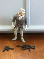 Star Wars POTF Han Solo In Hoth Gear Action Figure
