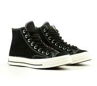 Converse Chuck 70 Hi Black/Egret Suede Base Camp 162373C Mens Sneakers