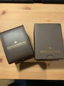 Baume Mercier Service Travel Case With Cushion