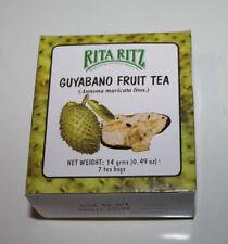 Rita Ritz Guyabano Fruit Tea Pack of Three Boxes 7 Tea Bags In a Pack