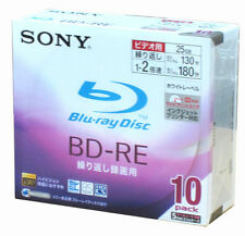 Sony CDs, DVDs and Blu-ray Discs