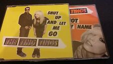 THE TING TINGS SHUT UP AND NOT MY NAME CD SINGLES FREE POSTAGE