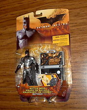 BATTLE GEAR BATMAN! Rare Silver Chase Variant! Target Exclusive! Batman Begins!