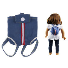 Doll Bag Backpack Accessories 43cm Baby Doll and American Girl Doll TOY QC