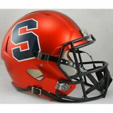 SYRACUSE ORANGE NCAA Riddell SPEED Full Size Authentic Football Helmet