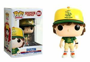 Stranger Things 3 Dustin Camp Uniform Pop! Funko Television Vinyl Figure N°804
