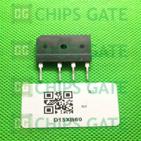 6PCS SHINDENGEN D15XB60 ZIP-4,General Purpose Rectifiers(600V 15A)
