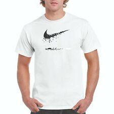 NIKE DRIP T-shirt, Nike DRIP logo on white Jerzees T,