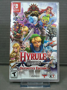 Hyrule Warriors: Definitive Edition (Nintendo Switch, 2018) Factory Sealed!