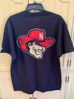 University of Nebraska Cornhuskers Huskers Black T-Shirt Men's Size L Large NWT