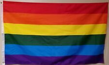 Rainbow Flag 3' x 5' Gay Lesbian Pride LGBT Polyester