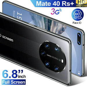 Mate 40 RS Cell Phone Android 8.0 Smartphone Dual SIM Cards Super Cheap 6.8in
