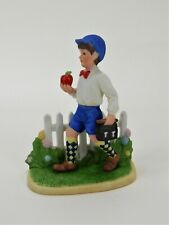 Apple for the Teacher Figurine Inspired by the Art of Norman Rockwell