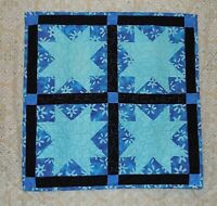 "29"" SQ QUILTED WALL HANGINGSTABLE TOPPERS NEW HANDMADE LINEN COTTON"