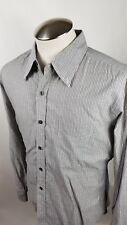 VINCE Men's Striped Long Sleeve Button Up Shirt Size Large