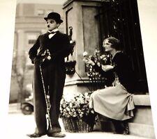 Charlie Chaplin / City Lights / 8 X 10 B&W Photo