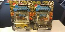 """2003 Funline Military """"Muscle Machines"""" lot of 2 Mint Carded!"""