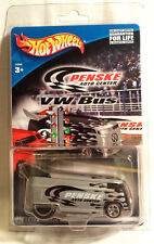 HOT WHEELS 2001 PENSKE AUTO CENTER SILVER VOLKSWAGEN VW RACE BUS FREE SHIPPING !