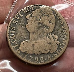 France 2 Sols 1792