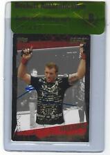 Ryan Bader Signed 2010 Topps UFC Gold Card #32 BAS Beckett COA Autograph 192 144