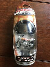 Micro Machines Titanium Series Die Cast Johnny Blaze's Stunt Bike NEW
