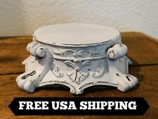 Capital, Shabby Chic, Pillar Candle Holder, Rose Bowl Riser, Victorian, Candle