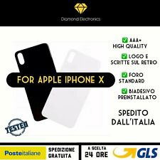 🔝 Vetro Posteriore Back Glass Scocca Back Battery Cover Apple iPhone X