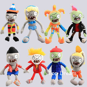 Plants vs Zombies 2 PVZ Plush Doll Soft Stuffed Toy 10'' Figures Kids Xmas Gift
