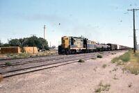 1970 Swink Colorado ATSF Santa Fe Railroad Car 2661 Original 35mm Slide