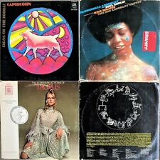 ZODIAC ASTROLOGY LP LOT: SOUL ZODIAC Cannonball Adderley 2-LP; Taurus; Capricorn
