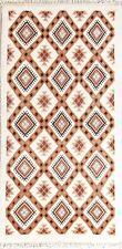 "Geometric Tribal Runner 3x6 Moroccan Oriental Wool Rug Carpet 5' 7"" x 2' 10"""